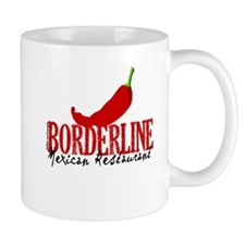 The Borderline Mexican Restau Mug Mugs