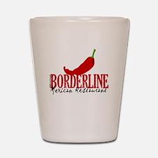 The Borderline Mexican Restau Shot Glass