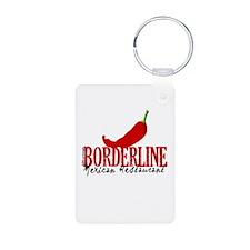 The Borderline Mexican Restau Keychains