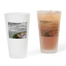 Say NO to PETA Drinking Glass