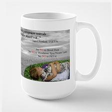 Say NO to PETA Mug