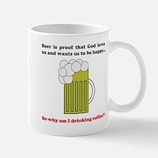"""""""Why am I drinking coffee?!"""" Mug"""