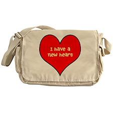 I have a new heart Messenger Bag
