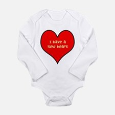 I have a new heart Long Sleeve Infant Bodysuit