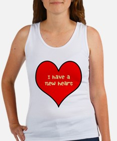 I have a new heart Women's Tank Top