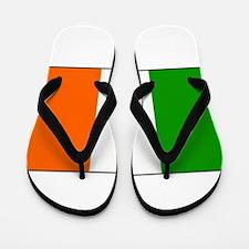 Irish Flag Flip Flops