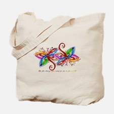 Cute Dragonfly Tote Bag