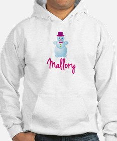 Mallory the snow woman Hoodie