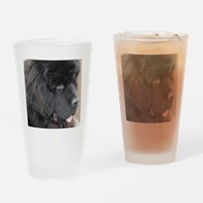 Puppies Drinking Glass