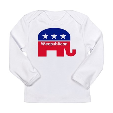 Weepublican Long Sleeve Infant T-Shirt