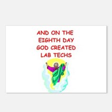 lab techs Postcards (Package of 8)
