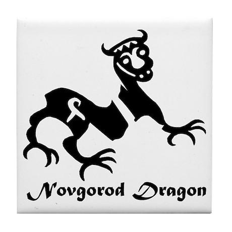 Novgorod Dragon Tile Coaster