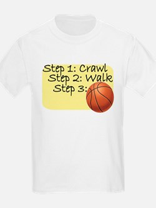 Crawl Walk Basketball T-Shirt