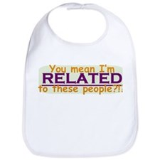 Related to these People Bib