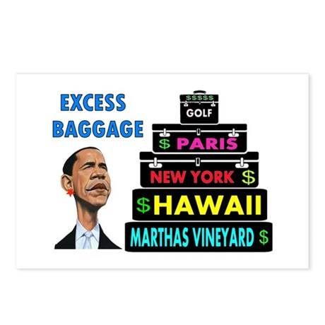 EXCESS BAGGAGE Postcards (Package of 8)