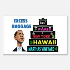 EXCESS BAGGAGE Decal
