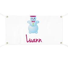 Luann the snow woman Banner
