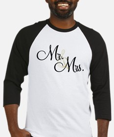 Mr & Mrs (Wedding) Baseball Jersey
