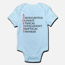 Atheist Acronym Infant Bodysuit