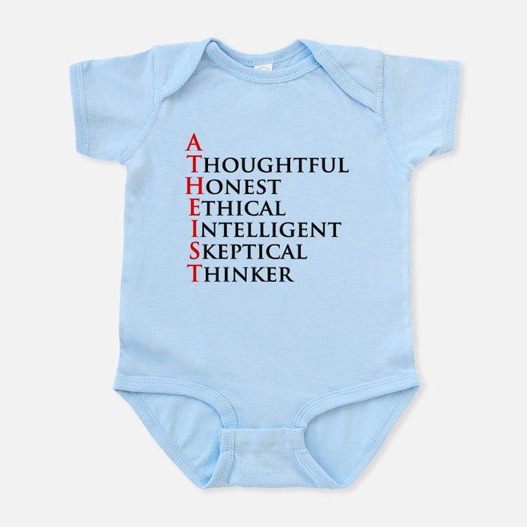 Atheist Acronym Infant Bodysuit