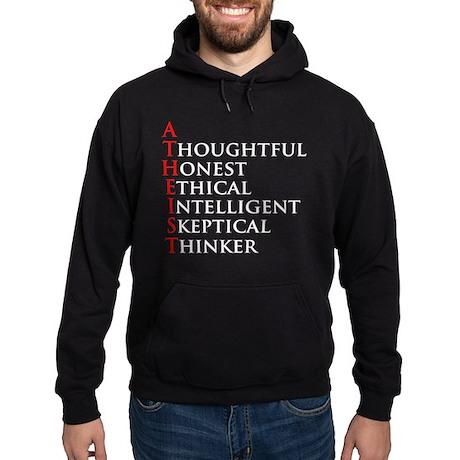 Atheist Acronym Hoodie (dark)