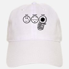 Eat Sleep Tuba Baseball Baseball Cap