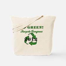 Go Green! Tote Bag