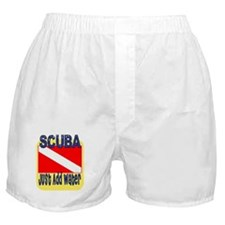 Scuba - Just Add Water Boxer Shorts