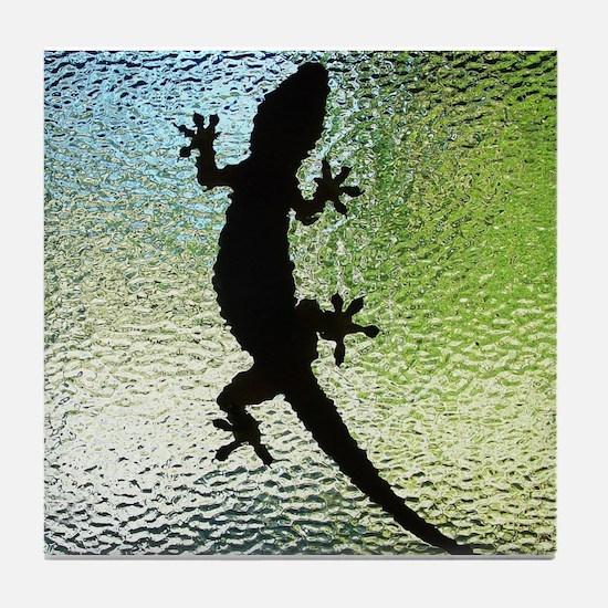 Unique Lizard skin Tile Coaster