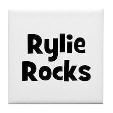 Rylie Rocks Tile Coaster