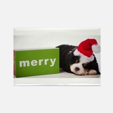 Merry Rectangle Magnet