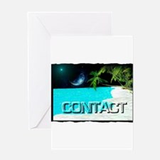 contact Greeting Card