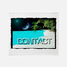 contact Throw Blanket