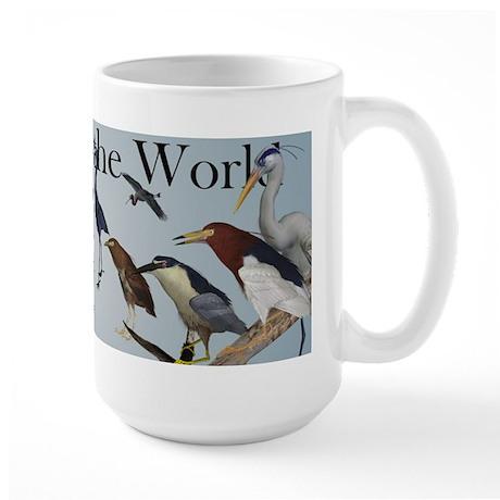 Herons of the World Large Mug