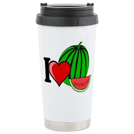Watermelon Stainless Steel Travel Mug