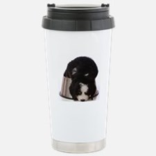 Passed out Puppy Travel Mug