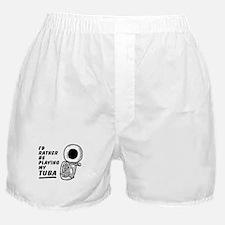 Funny Tuba Boxer Shorts