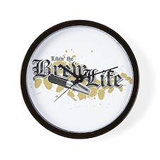 Livin' the Brewlife Wall Clock