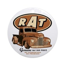 RAT - Truck Ornament (Round)