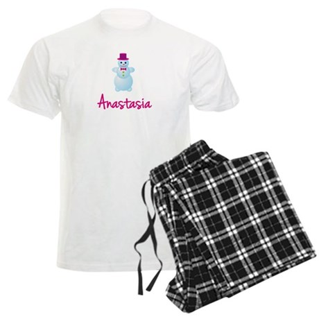 Anastasia the snow woman Men's Light Pajamas