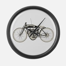 Indian Motorcycle Large Wall Clock