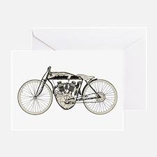Indian Motorcycle Greeting Card