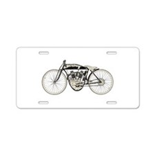 Indian Motorcycle Aluminum License Plate