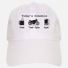 Coffee, 2 Wheels, and Beer Baseball Baseball Cap