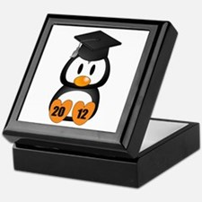 Custom Gradution Penguin Keepsake Box