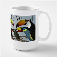 Toucans of the World Large Mug