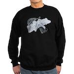 Black Pistol Garter Belt Sweatshirt (dark)
