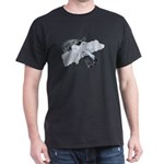 Black Pistol Garter Belt Dark T-Shirt