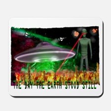 the day the earth stood still Mousepad