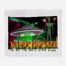 the day the earth stood still Throw Blanket
